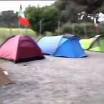 Il campo dei profughi italiani