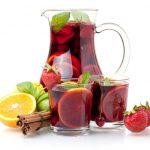 La Sangria di frutta mista