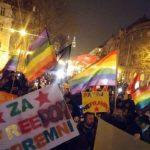 Zagabria scende in piazza: No all'omofobia