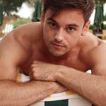 Tom Daley Argento 'Rainbow' in Russia