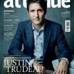 Justin Trudeau su Attitude sempre più Arcobaleno