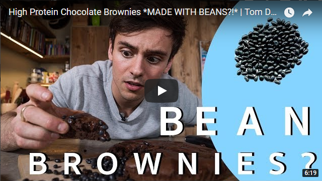 High Protein Chocolate Brownies *MADE WITH BEANS?!* | Tom Daley