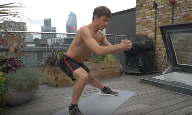 In forma con Tom Daley. 6 Minute Leg Workout 2