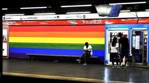La fermata di Porta Venezia resterà Rainbow