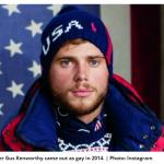 """Lo sciatore Kenworthy agli omofobi: """"Restate a casa"""""""