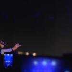 Roberto e Fabio proposta di matrimonio al concerto di Arisa