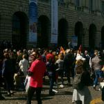 Congresso Verona Flop manifestazione di chiusura