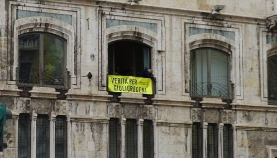 Polemica a Cagliari: rimosso lo striscione per Giulio Regeni