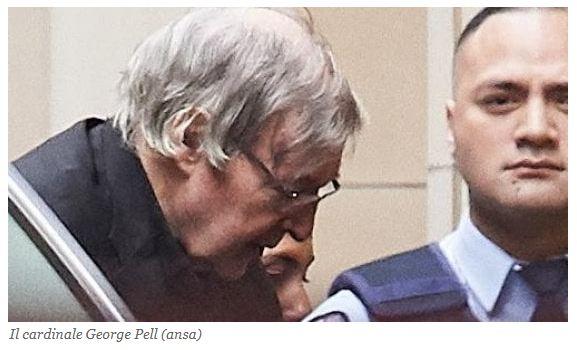 Pedofilia Vaticana: Cardinale Pell prosciolto per 'ragionevole dubbio'