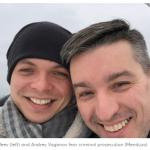 Famiglia gay in fuga dalla Russia