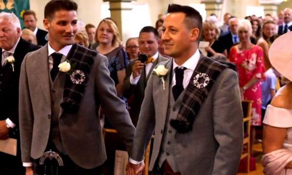 'Songs of Praise' e il primo matrimonio gay