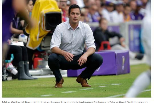 Real Salt Lake esonerato l'allenatore per omofobia