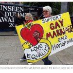 Irlanda del Nord a San Valentino i primi  matrimoni gay