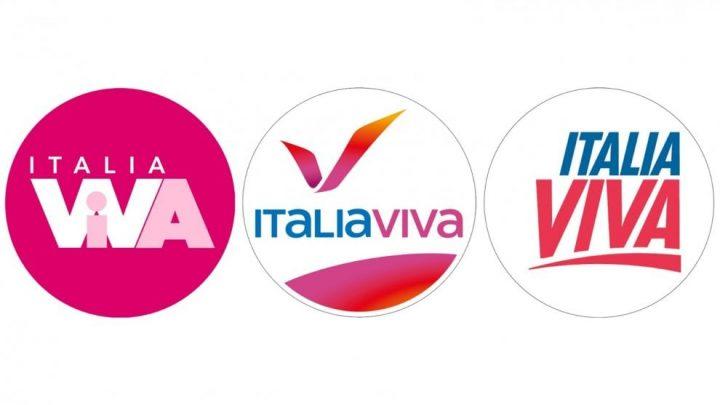Italia Viva alla scelta del logo
