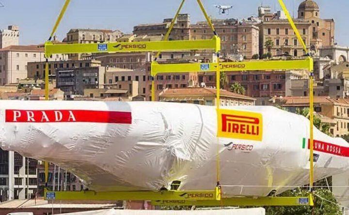 Presentazione di Luna Rossa a Cagliari