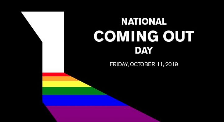 11 ottobre Coming Out Day