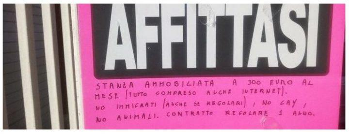 Omofobia a Roma. Niente affitto a immigrati e gay