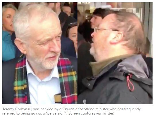 La Chiesa di Scozia sospende prete omofobo