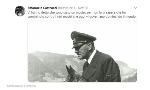 Docente Ateneo Siena e quel tweet pro-Hitler