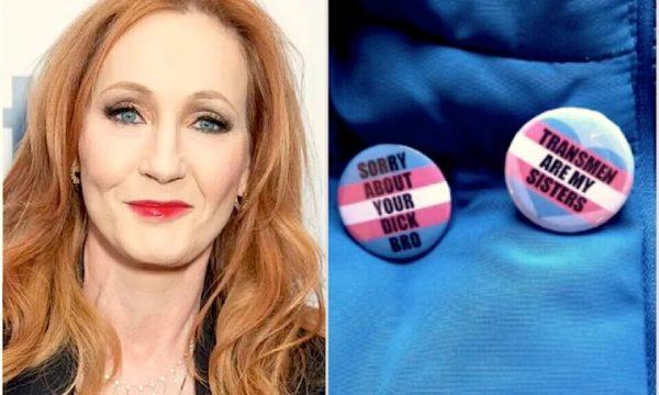 La transfobica J.K. Rowling promuove l'e-commerce transfobico