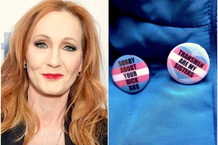 La transfobica J.K. Rowling promuove l'e commerce transfobico