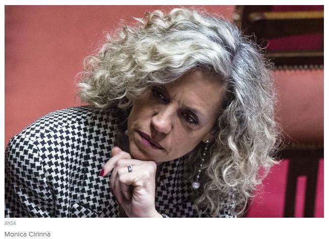 Monica Cirinnà pensa a Roma