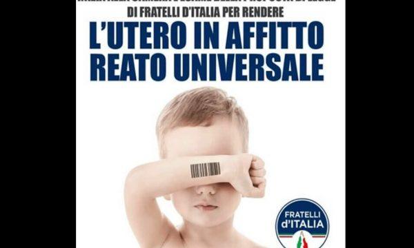 Fratelli d'Italia all'attacco del GPA: deve diventare reato universale