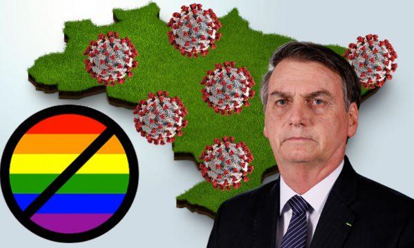"""Bolsonaro: """"Smettiamola di essere un Paese di fr*ci"""" per il Covid19"""