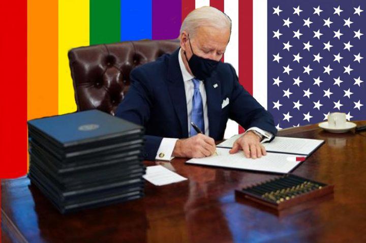 Il Presidente Usa Biden contro la discriminazione LGBT+