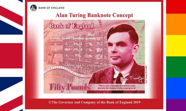 Regno Unito, la banconota 'Alan Turing'