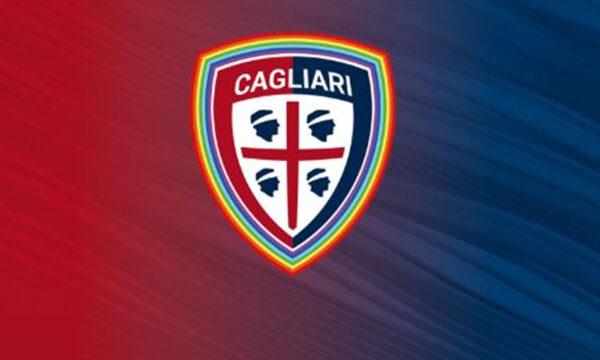 Il Cagliari Calcio in campo contro l'omotransfobia e la bifobia