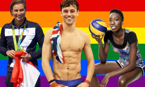 Olimpiadi Tokyo 2020, record atleti Rainbow